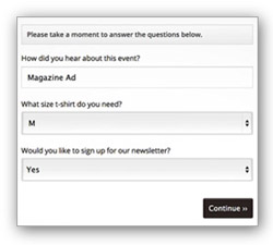 Know Your Customers by<br>Asking Custom Questions